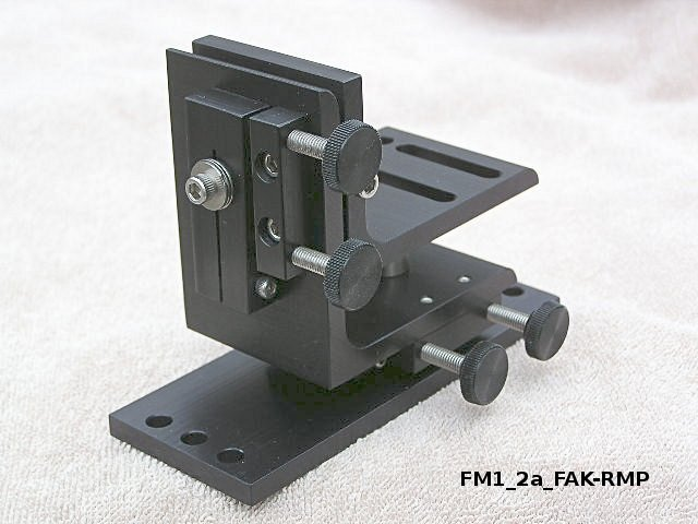 FM3_2a Mount for Cognex In-Sight 7000 series Cameras -- Foveal Systems