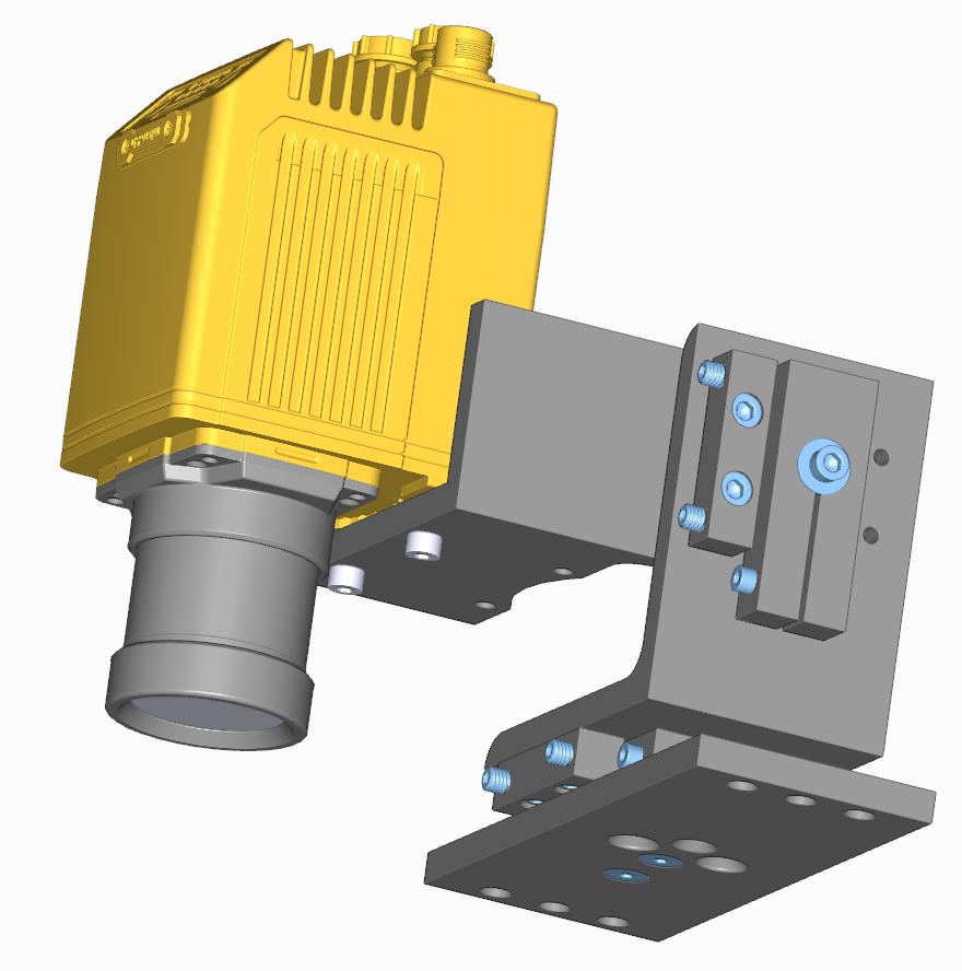 FM3_2a Mount for Cognex DataMan 470 series Cameras -- Foveal